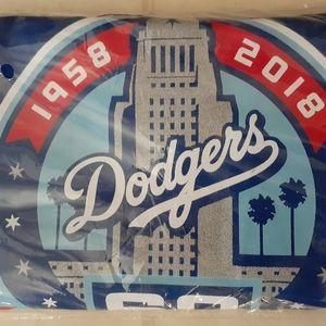 LA Dodgers 60th Anniversary BBQ Apron